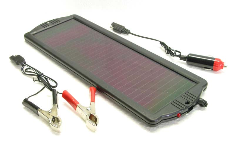 12V Solar Panel Battery Charger & Maintainer S-1113