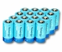 Tenergy 10100 D-cell (16PK) 10000mAh 1.2V Nickel Metal Hydride (NiMH) Button Top Batteries - Pack of 16