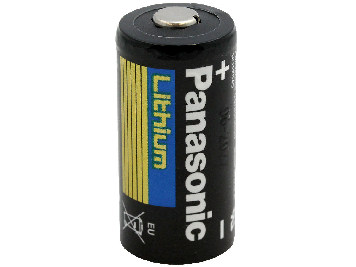 panasonic cr123a 3 volt photo lithium battery. Black Bedroom Furniture Sets. Home Design Ideas