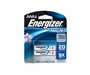 Energizer Ultimate L92-BP-2 AAA 1250mAh 1.5V High Energy 1.5A Lithium (LiFeS2) Button Top Batteries - 2 Piece Retail Card