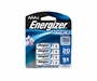 Energizer Ultimate L92-BP-4 AAA 1250mAh 1.5V High Energy 1.5A Lithium (LiFeS2) Button Top Batteries - 4 Pack Retail Card