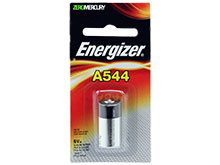 Energizer A544-BPZ 28A PX28 L544 6V Alkaline Button Top Photo Battery - Mercury Free - 1 Piece Retail Card