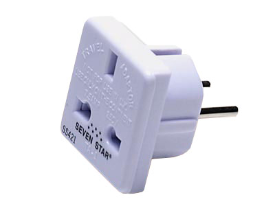 Adapter Plug from U. K. to European