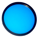 AELight BLUE UV Colored Filter 2-3/4