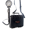 AELight LED Portable Floodlight - 1800 Lumens - 24W - Uses 1 x 12V 7Ah Lead Acid Battery
