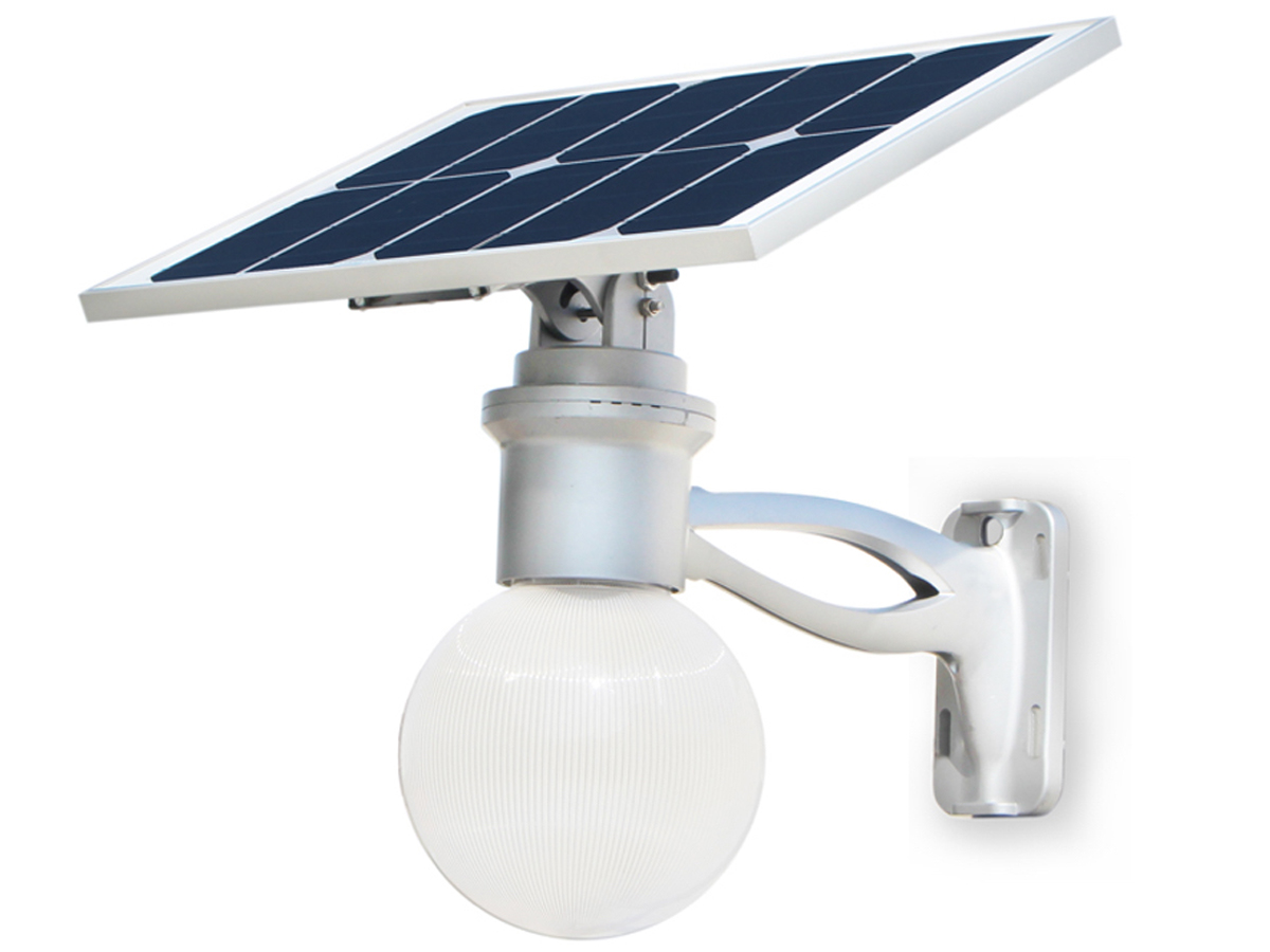 AELight LED Solar Light W/Remote & Lithium battery