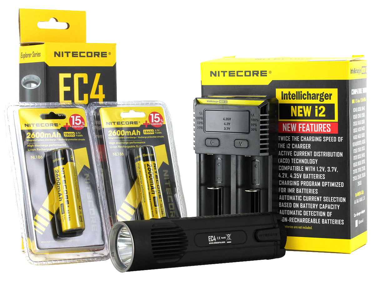 Nitecore EC4 Flashlight