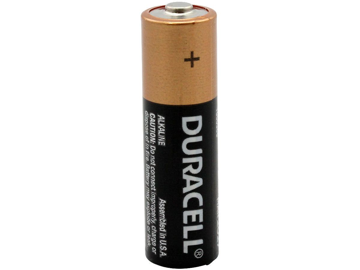 duracell duralock mn1500 aa 1 5v alkaline button top battery made in the usa boxed. Black Bedroom Furniture Sets. Home Design Ideas