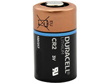 Standing Shot of the Duracell Ultra CR2 Lithium Photo Battery