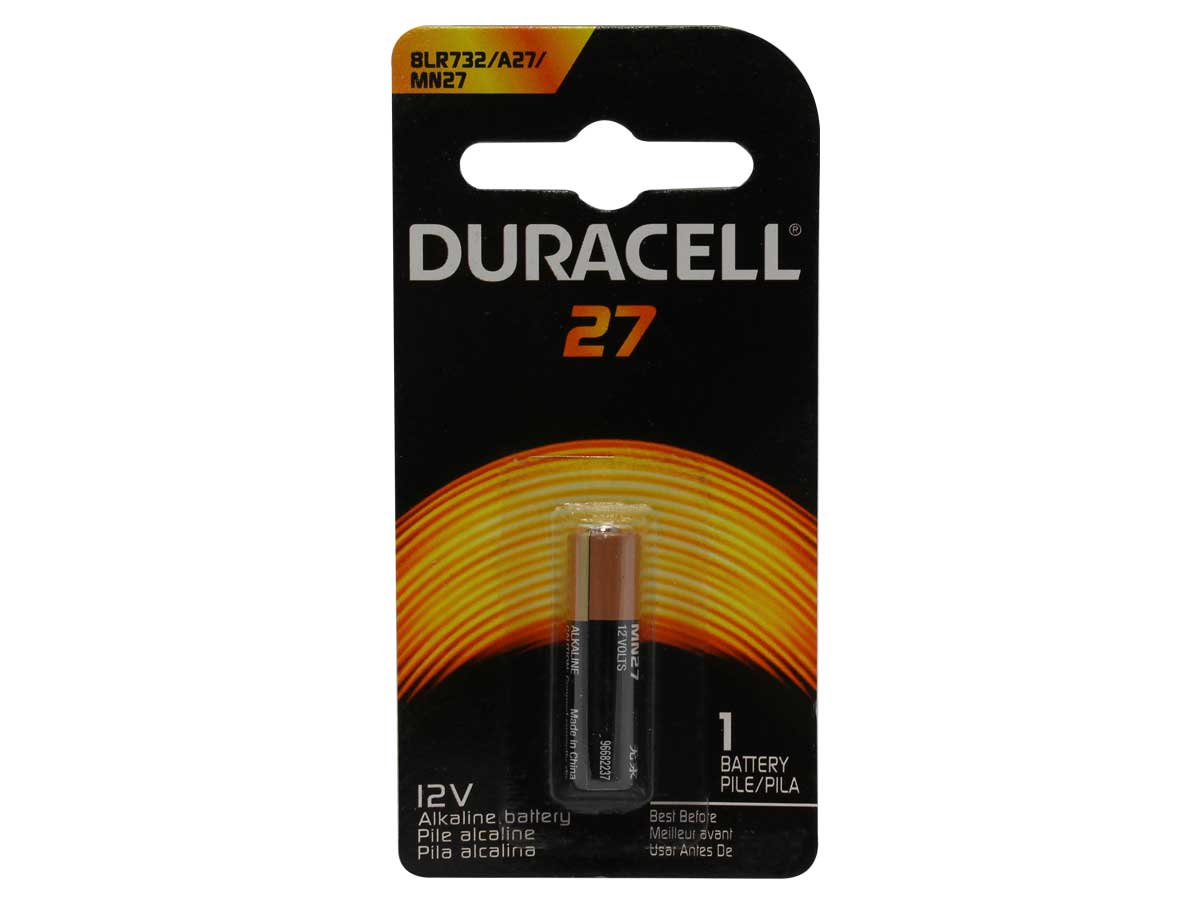 Duracell A27 12v Alkaline Batteries For Small Electronics