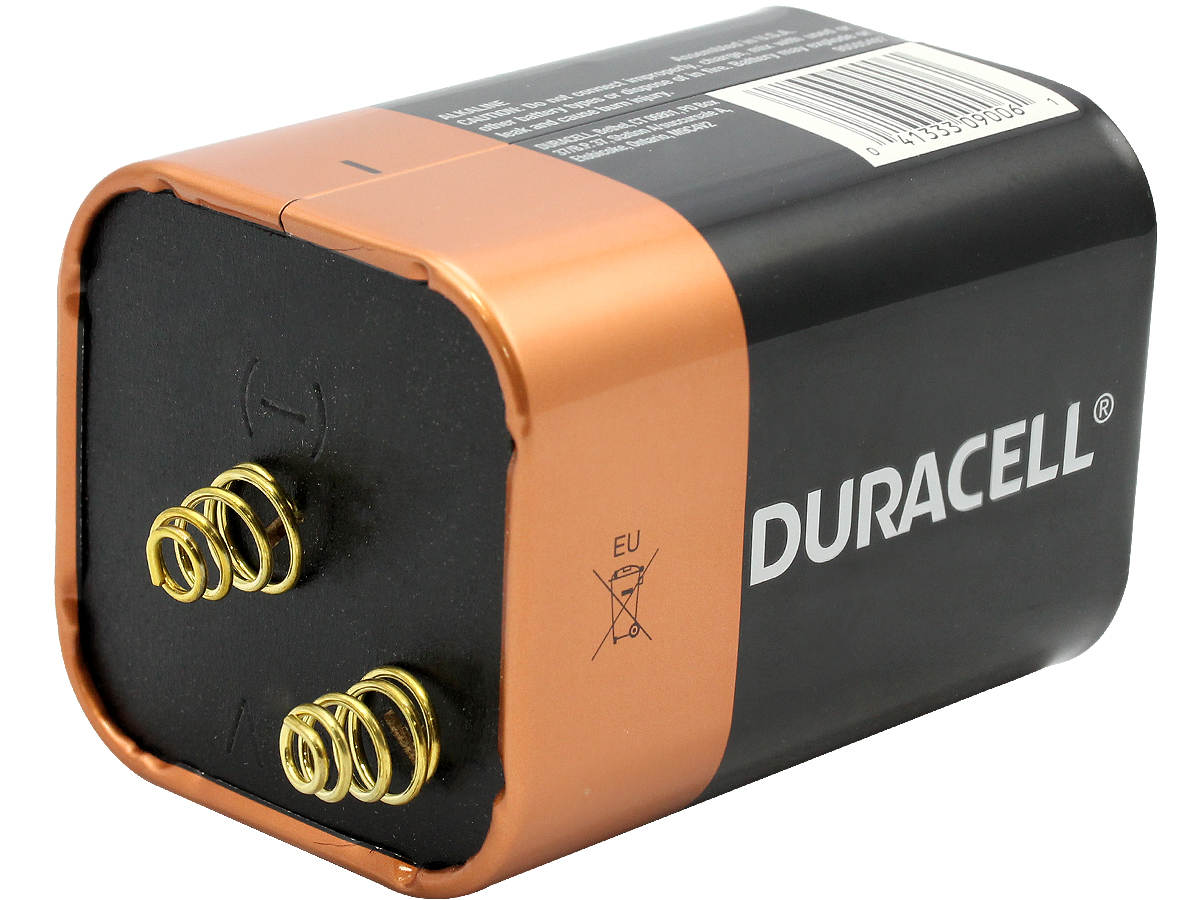 6 volt alkaline lantern battery duracell coppertop mn908. Black Bedroom Furniture Sets. Home Design Ideas