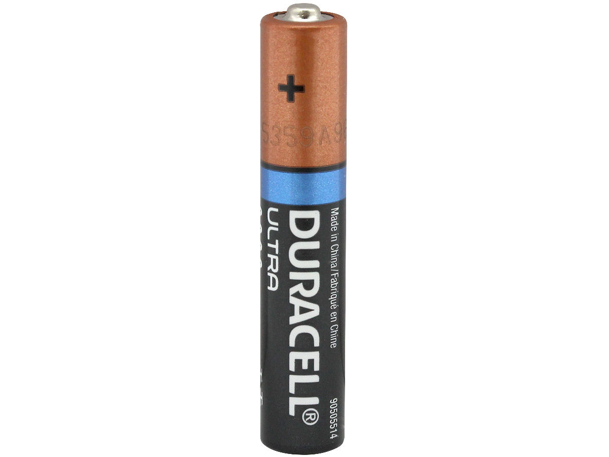 Duracell Ultra MX2500 AAAA 1.5V Alkaline Button Top Battery (E96 MN2500 25A 4061 X91) - Bulk