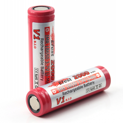Efest 3164 IMR 18650 2000mAh 3.7V Unprotected Lithium Manganese (LiMn2O4) Flat Top Battery - Boxed
