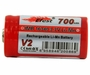 Efest 3277 IMR 16340 700mAh 3.7V Unprotected Lithium Manganese (LiMn2O4) Button Top Battery - Boxed