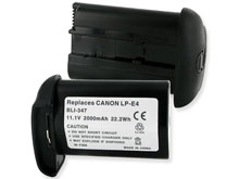Empire BLI-347 2000mAh 11.1V Replacement Lithium Ion (Li-Ion) Digital Camera Battery Pack for the Canon LP-E4