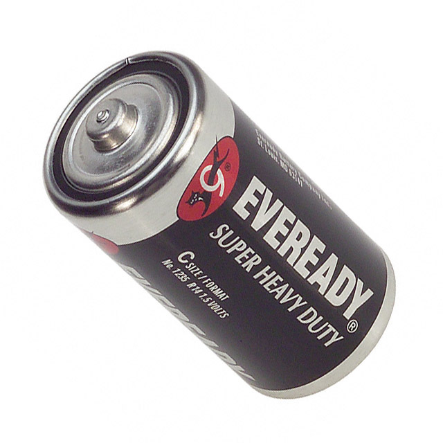Energizer Eveready Super Heavy Duty 1235 C-cell 3800mAh 1.5V Zinc Carbon Button Top Battery - Bulk