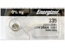 Energizer 335 Silver Oxide Watch Battery 1pc (Each)