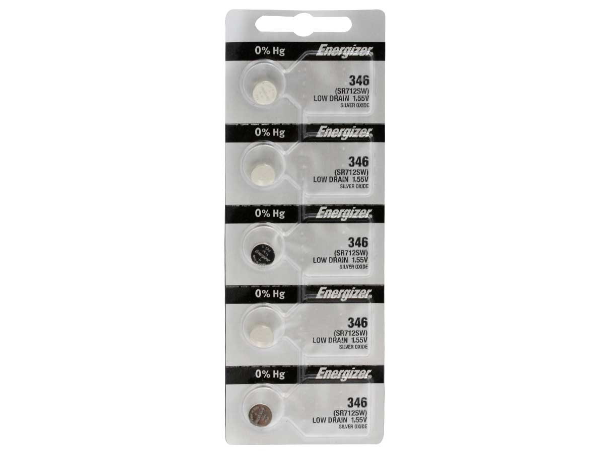 Energizer 346 Silver Oxide Watch Battery 1pc (Each)