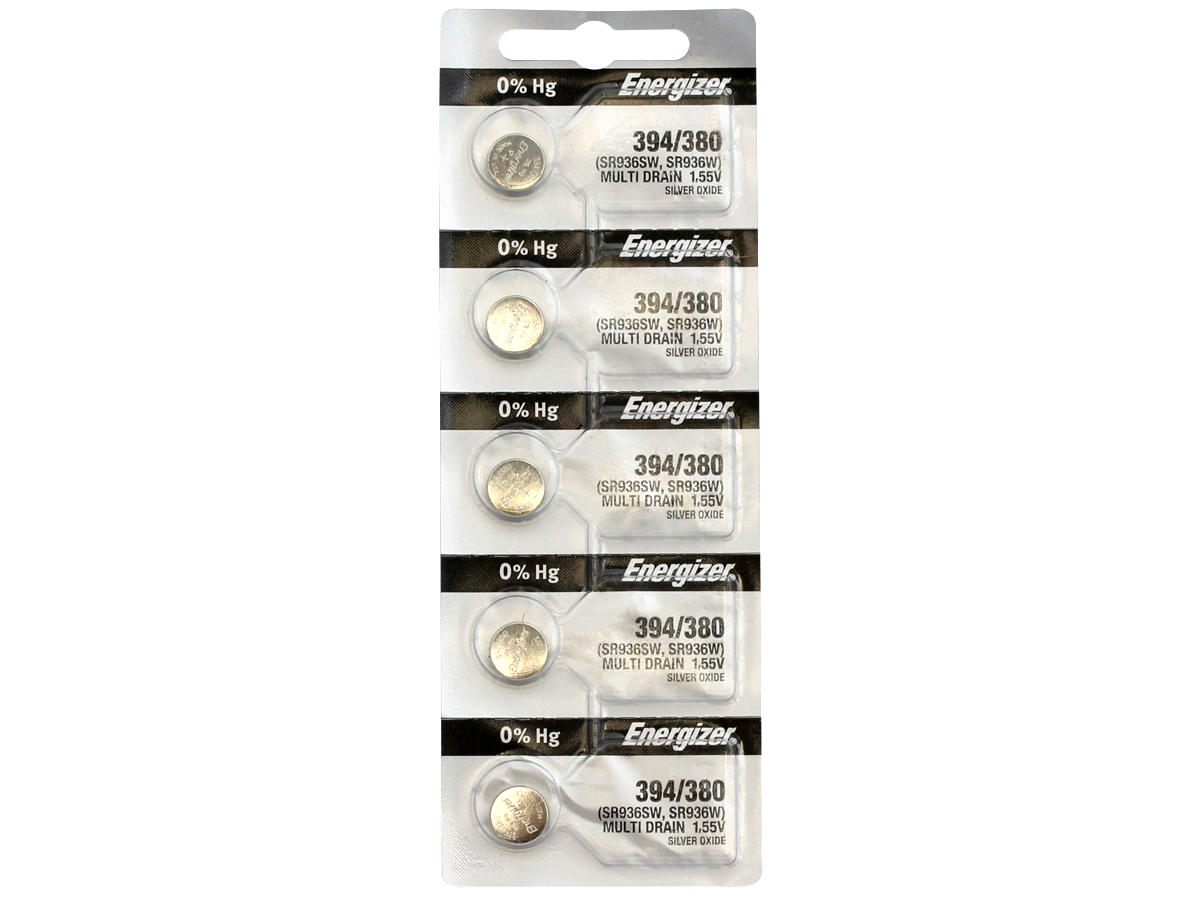 Energizer 394 Silver Oxide Watch Battery (Energizer 394/380)
