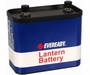 Energizer Eveready Super Heavy Duty 732 7500mAh 12V Zinc Carbon Lantern Battery with Screw Terminals - Bulk