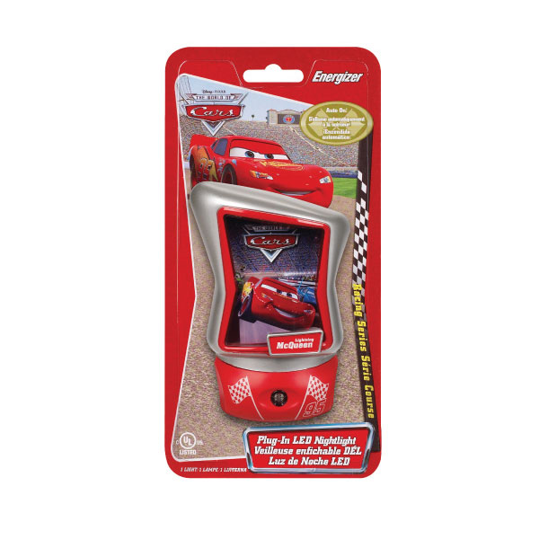 Energizer CARLNLBP - Disney Cars Plug-In LED Nightlight