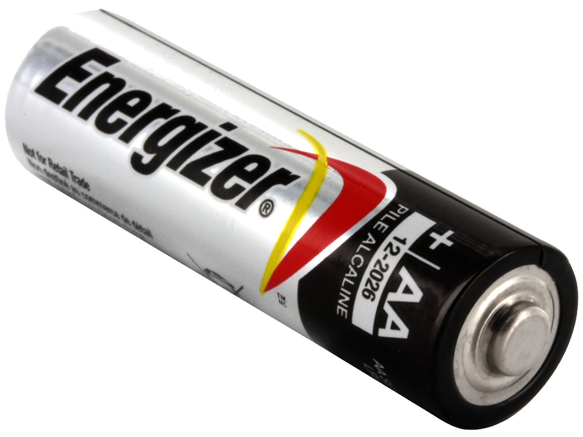 Energizer Max E91 (60PK) AA 1.5V Alkaline Button Top Batteries - Box of 60