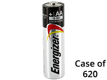 Case of 620 Batteries