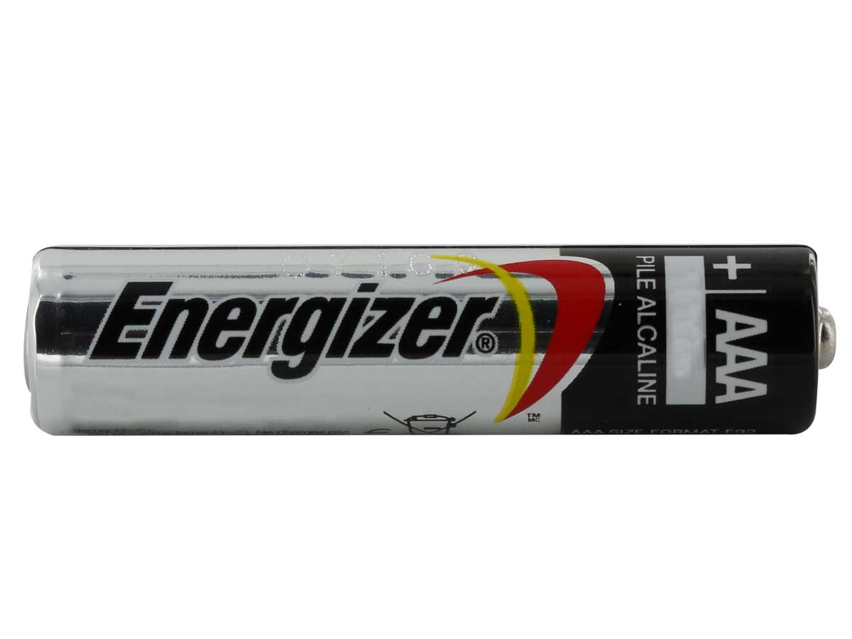 Energizer AAA Side shot