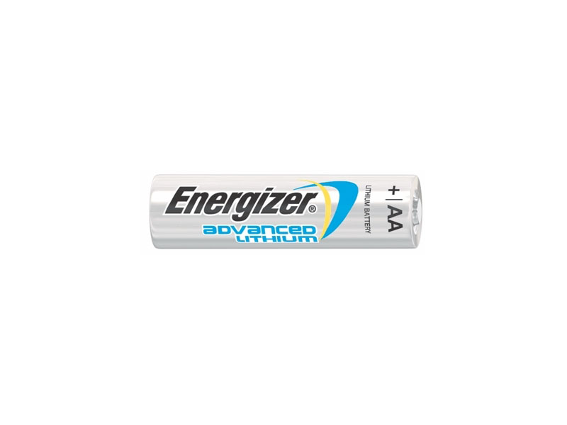 Energizer Advanced AA 3000mAh 1.5V Lithium (LiFeS2) Batteries (EA91BP-8) - 8 Pack Retail Card