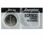 Energizer ECR1632 130mAh 3V Lithium (LiMNO2) Coin Cell Battery - 1 Piece Tear Strip, Sold Individually
