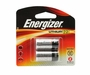 Energizer ELCR123A-BP-2 1500mAh 3V Lithium Primary (LiMNO2) Button Top Photo Batteries - 2 Pack Retail Card