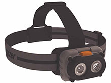 Energizer HCHDM32E Hard Case LED Magnet Headlamp - 200 Lumens - Includes 3 x AAAs