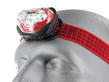 Energizer Vision HD LED Headlight - 150 Lumens - Includes 3 x AAAs - Available with Industrial Strap for Hardhats (HDB32E / HDBIN32E)