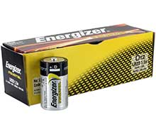 Energizer Industrial EN95 (12PK) D-cell 1.5V Alkaline Button Top Batteries - Box of 12
