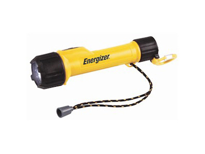 Energizer INL2AAE - Industrial 2 LED Industrial Flashlight - Uses 2 x AA Batteries