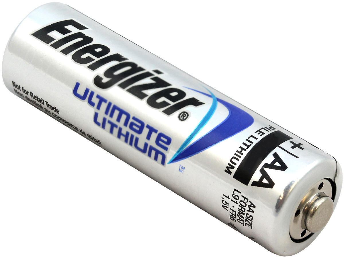 energizer ultimate lithium aa battery l91 20 pack. Black Bedroom Furniture Sets. Home Design Ideas