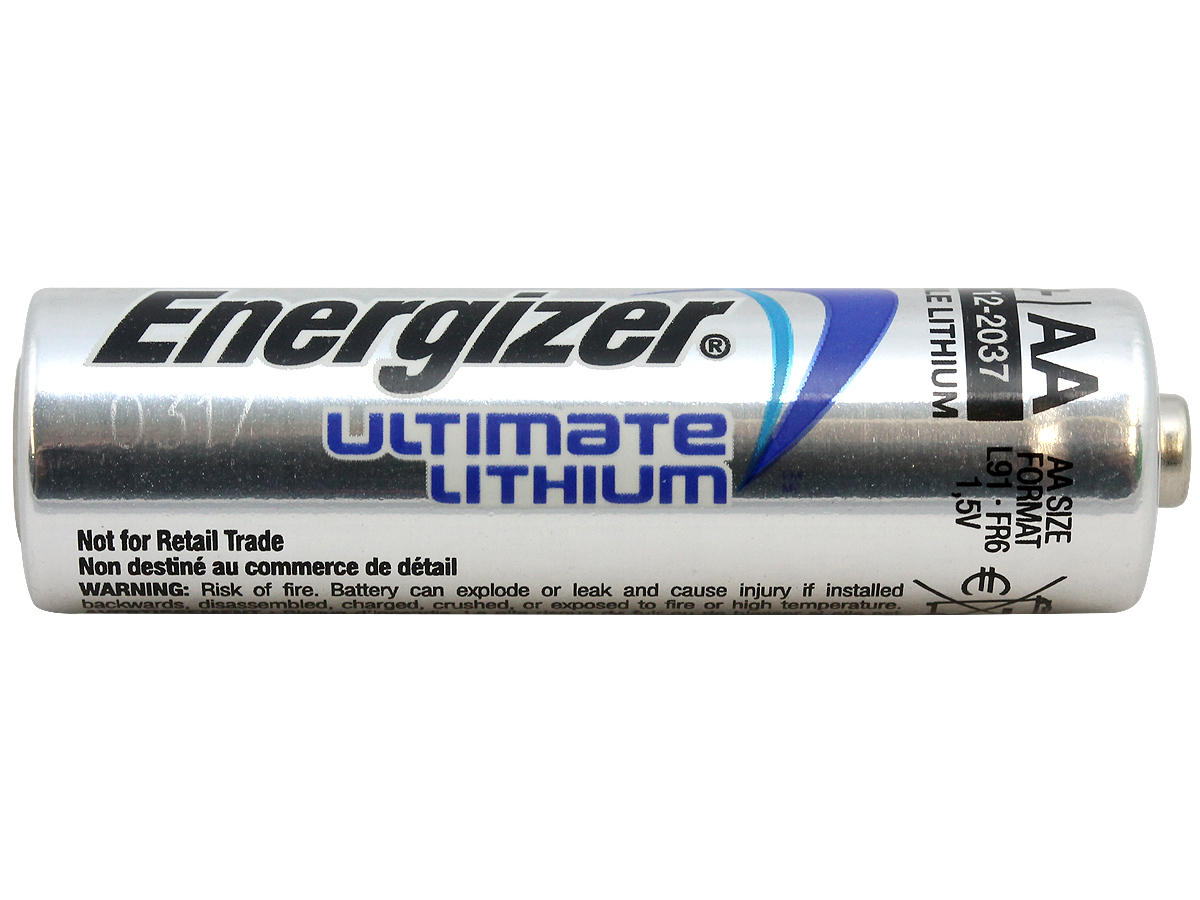 energizer ultimate lithium aa e2 battery l91 60 pack. Black Bedroom Furniture Sets. Home Design Ideas