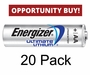 Energizer L91 Opportunity Buy - 20 Lithium AA's for a Special Low Price