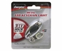 Energizer MLKC2BUCS - Metal LED Keychain Light  - Uses 2 x CR2032 Batteries