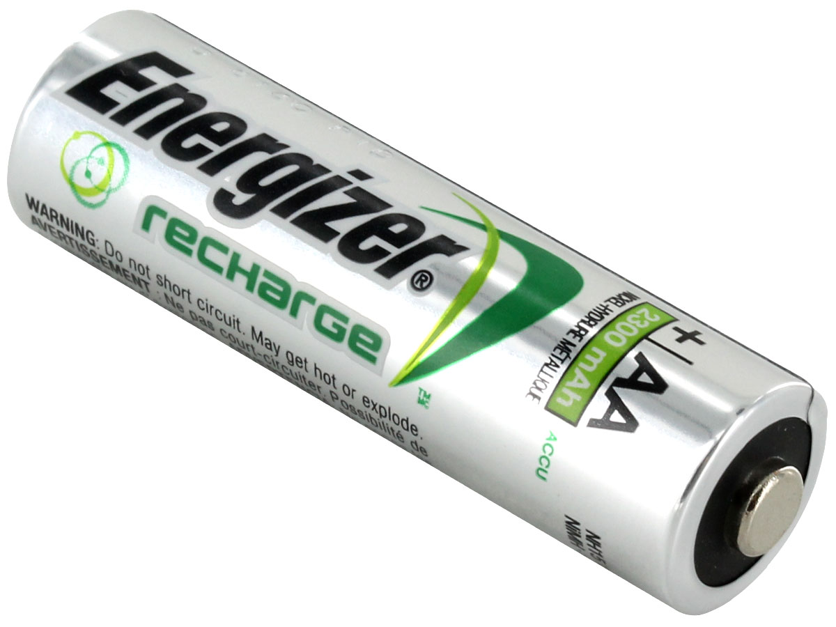 Energizer Recharge Nh15 Vp Aa 2300mah 1 2v Nickel Metal