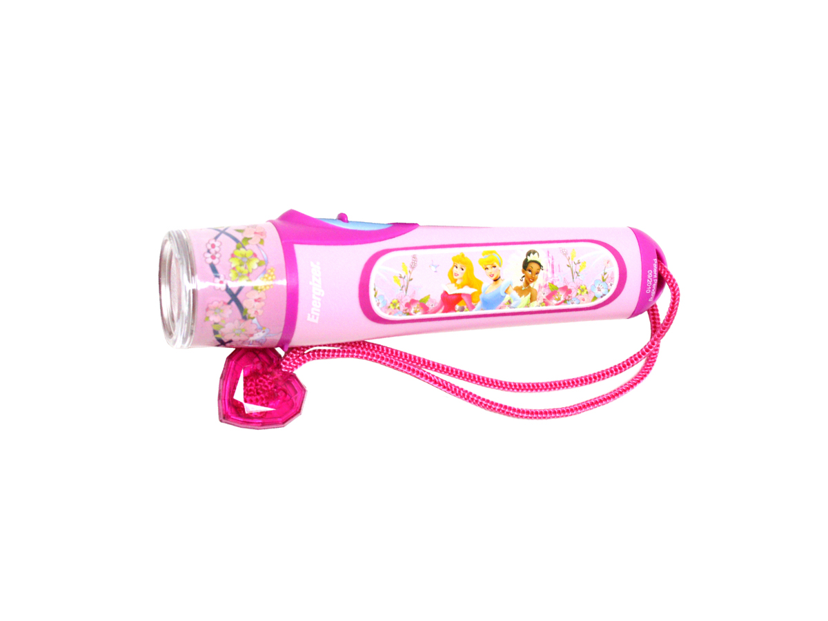 Energizer Disney Princess Glowing LED Flashight - Runs on 3x AAA batteries (PRN33AE)