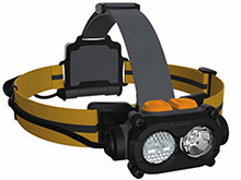 Energizer TUFHD31PE - Hard Case Professional LED Headlight  - 325 Lumens - Includes 3 x AA Batteries