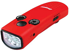 Energizer Weatheready Emergency Radio Crank Light - Red and White LEDs - 7 Lumens (WRRADCRKW)