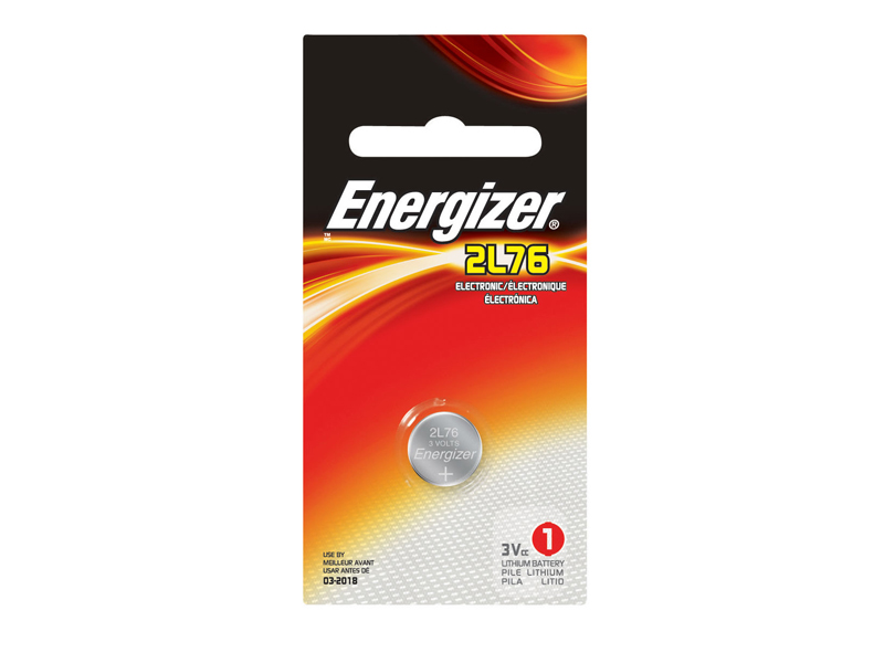 Energizer CR-1/3N 2L76BP 160mAh 3V Lithium Primary (LiMNO2) Coin Cell Battery - 1 Piece Retail Card