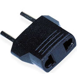 Seven Star Round Pin Euro 4mm Plug Adapter (MU-5)