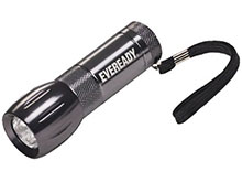 Energizer Eveready 3 LED Metal Flashlight - Uses 3x AAA