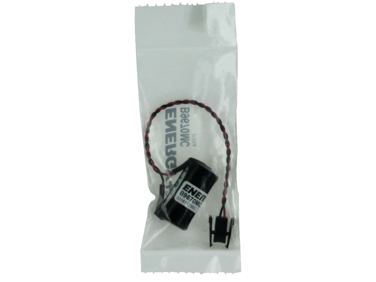 Energy+ CR1-2AA-WSC 940mAh 3V Lithium (LiMNO2) Battery Pack - Replacement for Siemens Controllers - Heat Sealed Bag