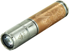 Fenix 15th Anniversary Limited Edition Commemorative Flashlight - CREE XP-E2 R3 LED - 85 Lumens - Rose Gold - Includes 1 x AAA