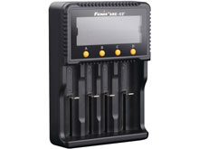 Fenix ARE-C2 Plus Advanced 4 Bay Smart Charger for Li-ion, NiMH, and NiCd Batteries