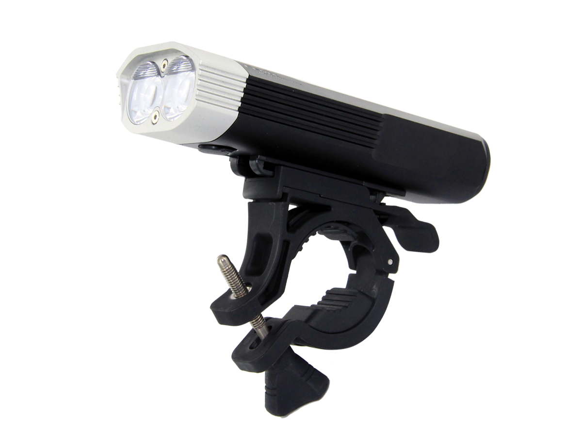 Fenix BC30 Bike Light - 2 x CREE XM-L2 T6 LEDs - Neutral White - 1800 Lumens - Uses 4 x CR123A or 2 x 18650